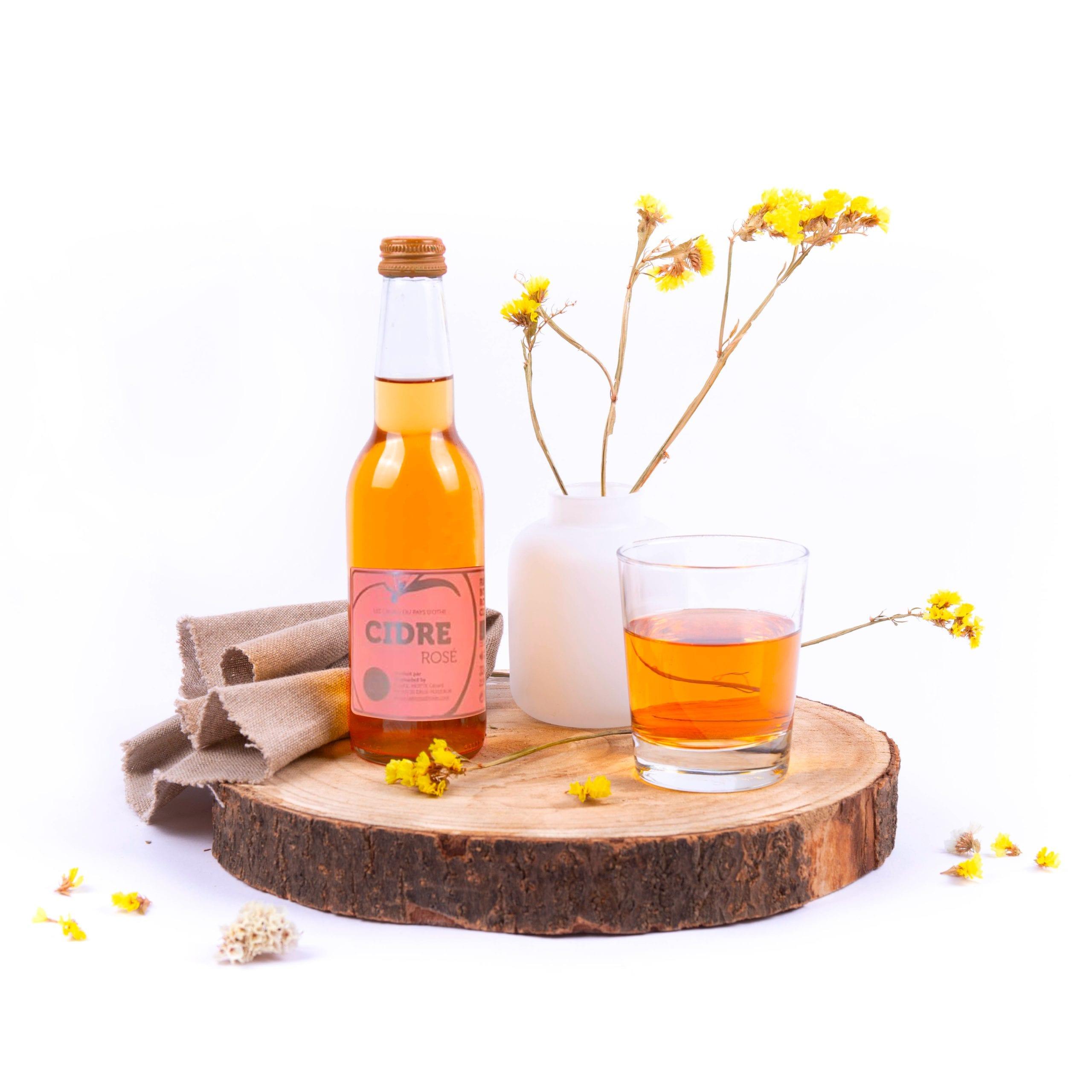 La Ferme d'Hotte, cidre doux de la région champagne, 33cl