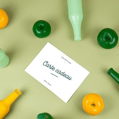 La carte cadeau de cidre. Offrir du cidre