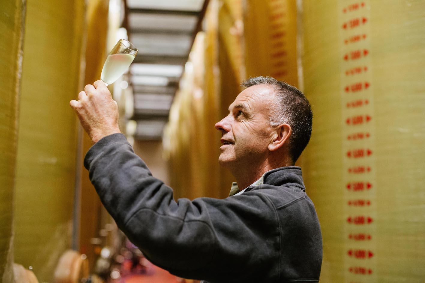 Didier Nicol, producteur de cidre