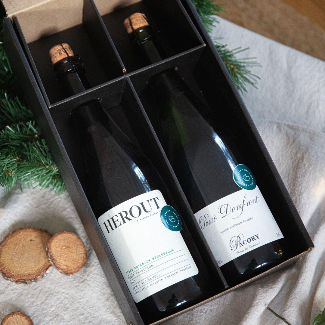 Coffret Cidre Cadeau Noël