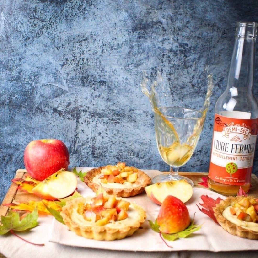 Recette Tartelette aux Pommes