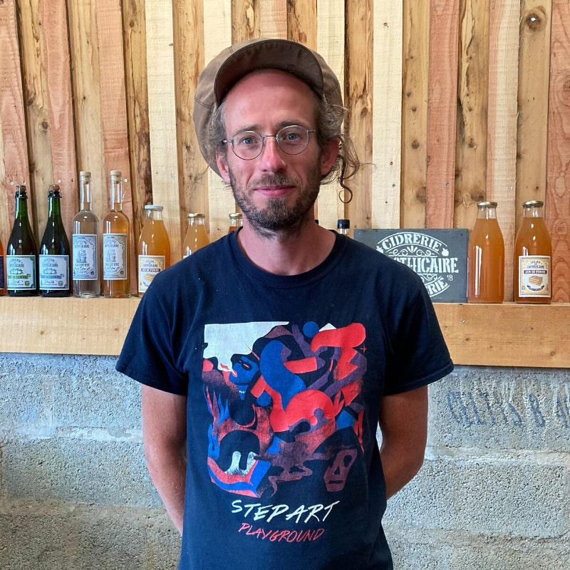 Cidrerie de L'Apothicaire - Matthieu Huet