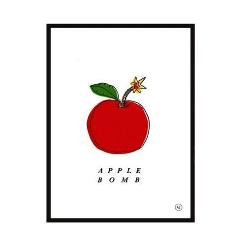 Illustration Anatole Zangs Apple Bomb