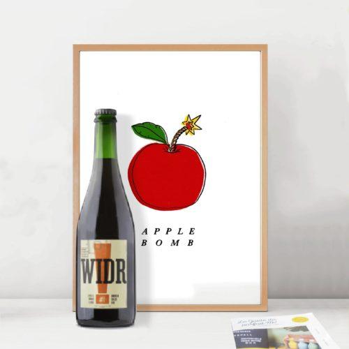 Widr x Apple Bomb