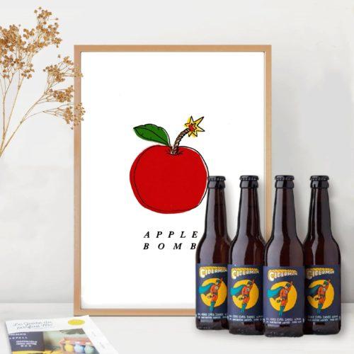 Ciderman Apple Bomb