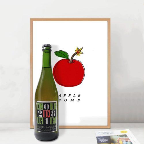 Cidre Brut Apple Bomb